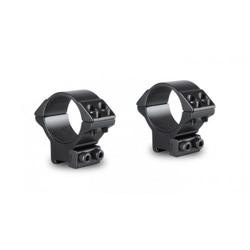 Hawke Sport Optics, Match Mounts, 2 Piece, 30mm, Medium, Double Screw