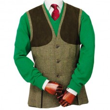 Laksen Dorset Tweed Shooting Vest