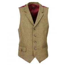 Laksen Dorset Tweed Dress Vest