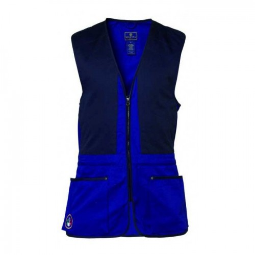 Beretta GT40 Blue Trap Shooting Vest
