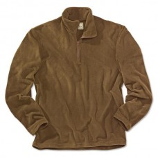Beretta Light Polar Fleece 1/2 zip Brown