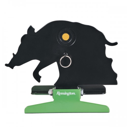 Remington Free Standing Folding Silhouette Knockdown Target - Hog