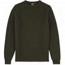 Musto Crew Neck Ribbed Knit jumper