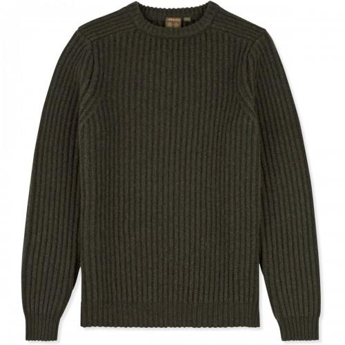 Musto Crew Neck Ribbed Knit jumper
