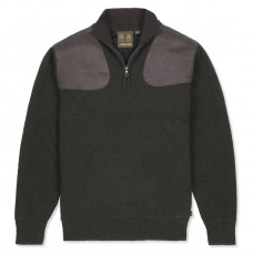 MUSTO Windjammer Zip Neck Knit Jumper
