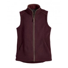 Musto Ladies Melford Fleece Gilet Bordeaux