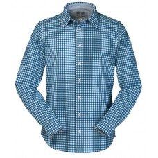 MUSTO Oxford Shirt (French Blue Gingham)