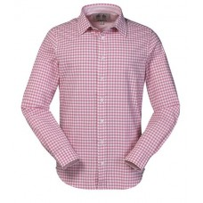 MUSTO Oxford Shirt (Pink Gingham)