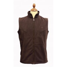 laksen Cape Fleece Vest Brown