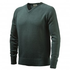 Beretta V-neck Jumper Dark Green