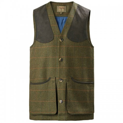 Musto Lightweight Machine Washable Gore-Tex Tweed Waistcoat Balmoral