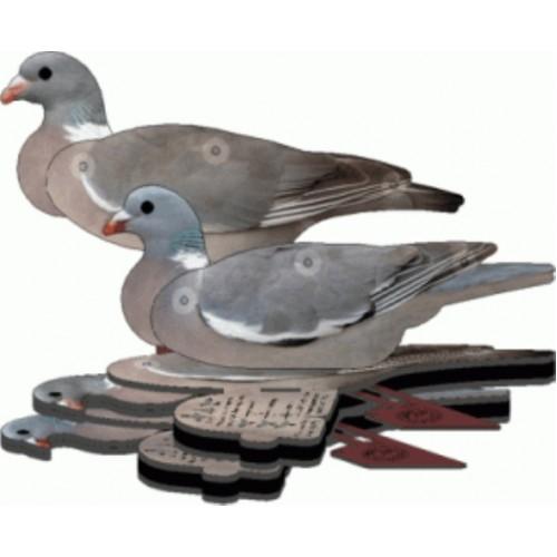 FUD Fold up Decoy Pigeon Set