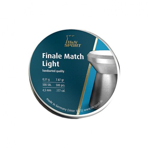 H&N Finale Match Light .177 Pellets