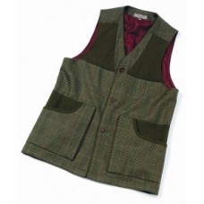 Laksen Bruar Tweed Shooting Vest