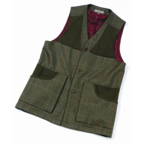 Laksen Bruar Tweed Shooting Vest