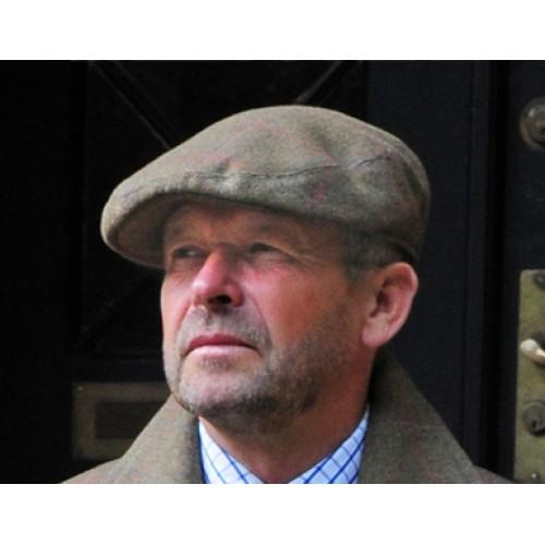Laksen Limited Tweed Flat Cap