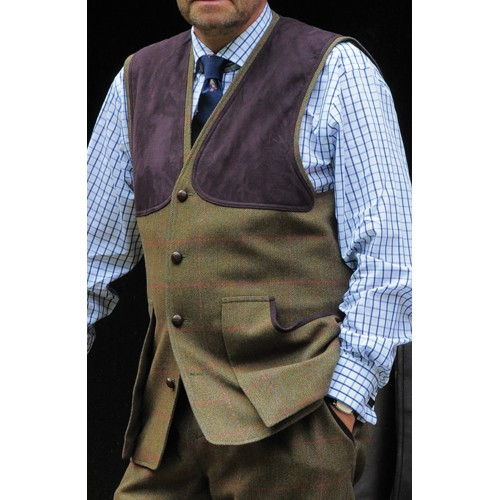 Laksen Limited Edition Tweed Shooting Vest