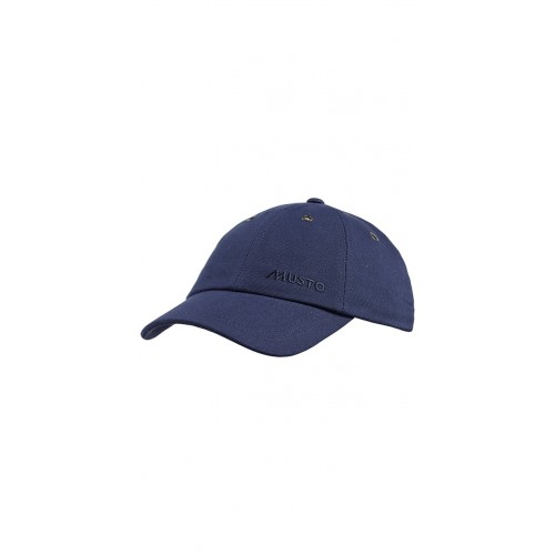 MUSTO EVOLUTION CANVAS CREW CAP NAVY