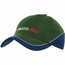 Musto Pro Shooting Cap - Green & Blue