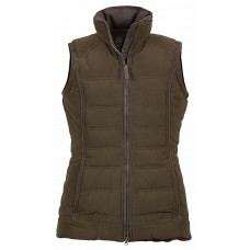 Musto Ladies Braemar Gilet Chocolate