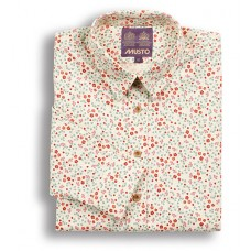 Musto Country Shirt Bordeaux Floral