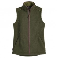 Musto Ladies Melford Fleece Gilet Dark Moss