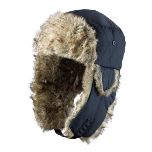 Musto Navy Winter Fur Hat