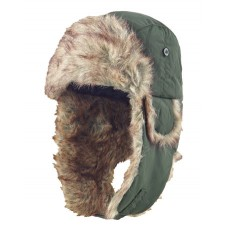 Musto Winter Green Fur Hat