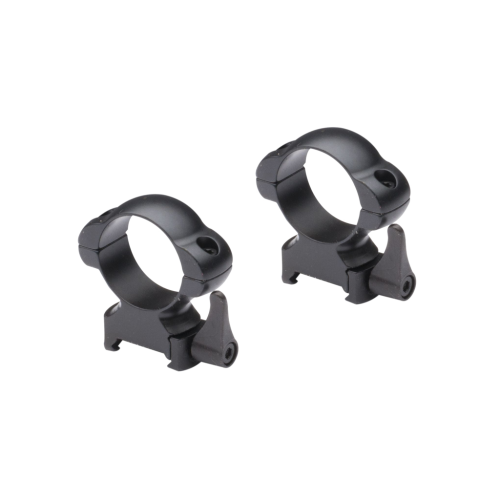 Nikko Stirling 30mm Steel Quick Release Rings - HIGH