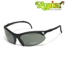 Napier A1000 Matt Black Shooting Glasses