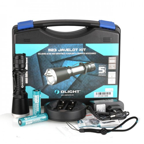 Olight M23 Javelot Rechargable Kit