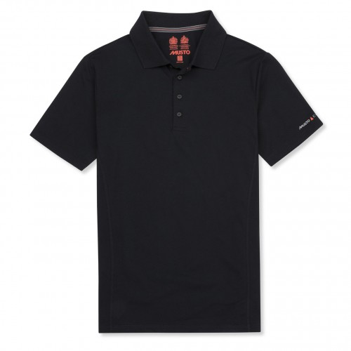 New Musto Evolution Sunblock Short Sleeve Polo Shirt - True Navy
