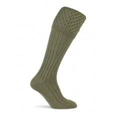 Coxmoore Chelsea Khaki Shooting Socks