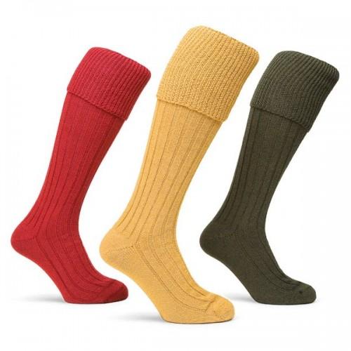 Rutland-  Colwick Shooting Socks Triple Pack