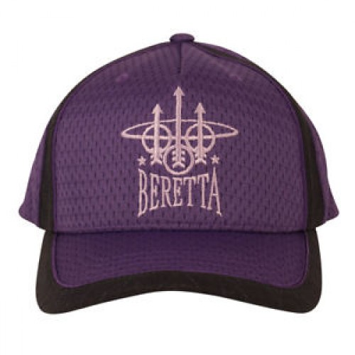 Beretta Uniform Cap in Navy / Lavender