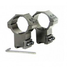 Wildhunter Pro-Mounts 9-11mm Dovetail, high 1""