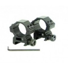 WILDHUNTER PRO MOUNTS WEAVER/PICATINNY HIGH - 1""