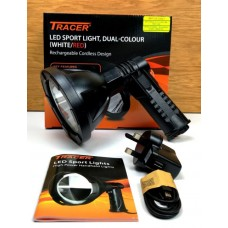 Tracer Dual Colour LED Rechargeable Sport Light