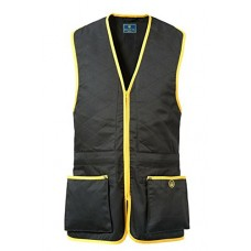 Beretta Trap Cotton Vest Black & Yellow