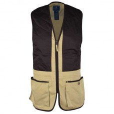 Beretta Trap Cotton Vest - Cornstalk & Coffee Bean